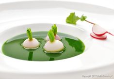 Soep met lente radijs (vertaling recept via blog bovenaan) -  ArtKulinaria !
