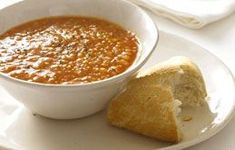 Lentil Soup - this hearty vegetarian soup has just a touch of spice and is cook & easy to prep. Good with a spoonful of natural yogurt & crusty bread. Crockpot Recipes, Soup Recipes, Cooking Recipes, Yummy Recipes, Hearty Vegetarian Soup, Natural Yogurt, Brunch, Lentil Soup, Lentils