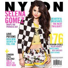 Selena Gomez on NYLON'S February 2013 cover!