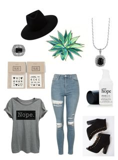 """""""forgotten"""" by love-u-goodbye ❤ liked on Polyvore featuring Topshop, Effy Jewelry, rag & bone and NAVUCKO"""