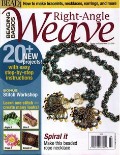 Look at this for bracelet and necklace ideas--lots of very pretty ones.  PH