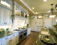 Luxury Kitchen in Plan 065S-0034 | House Plans and More