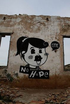No Hope Eme Street art #Disney #parody