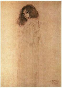 Gustav Klimt_ 소녀