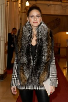 Olivia Palermo attends the Zuhair Murad Haute Couture Spring Summer 2018 show as part of Paris Fashion Week on January 24 2018 in Paris France