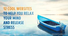12cool websites tohelp you relax your mind and release stress
