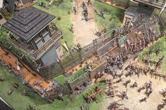 Walking Dead Diorama
