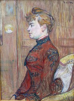 The Policeman s Daughter, 1890 - Henri de Toulouse-Lautrec Henri De Toulouse Lautrec, Georges Seurat, Charles Angrand, Painting Gallery, French Artists, Les Oeuvres, Art History, Painting & Drawing, Art Nouveau