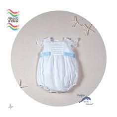 Pololo de bautizo de bebe ARTESANIA AMAYA plumeti modelo 97101 (BAJO PEDIDO)