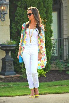 Cute fashion outfits ideas – Fashion, Home decorating Kimono Outfit, Kimono Fashion, Kimono Cardigan, Cardigan Outfits, Kimono Top, Spring Summer Fashion, Spring Outfits, How To Wear Cardigan, Mode Kimono