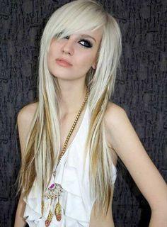 Blonde Frisur Idee