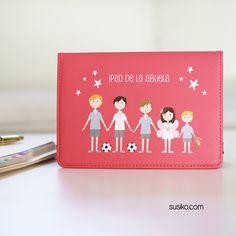 personaliza tu regalo, funda de tablet para la abuela