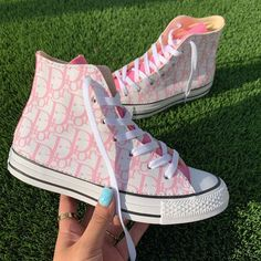 Dior sneakers uploaded by Marjo♡ on We Heart It - Source by - Dr Shoes, Swag Shoes, Hype Shoes, Me Too Shoes, Pink Shoes, Dior Sneakers, Cute Sneakers, Sneakers Fashion, High Top Sneakers