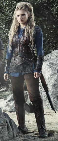 """Lagertha from History Channel's """"Vikings."""""""