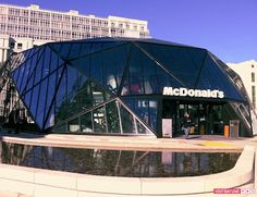 Stunning Glass McDonalds Opens in Batumi, Georgia
