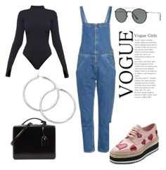 """""""Untitled #119"""" by paulitamarmal ❤ liked on Polyvore featuring M.i.h Jeans, Ivy Park, Prada, Mark Cross and Ray-Ban"""