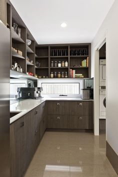 Modern And Contemporary Butlers Pantry Interiors By DARREN JAMES  Transitional Kitchen
