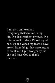 21 Best Strong Woman Quotes – Strong Quotes to Live by 21 Best Strong Woman Quotes – Strong Quotes to Live by Keep yourself motivated and inspired with these 21 of the best strong woman quotes out there. Now Quotes, Self Love Quotes, Faith Quotes, True Quotes, Bible Quotes, Quotes To Live By, Motivational Quotes, Funny Quotes, Inspirational Quotes