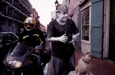 Alex Webb USA. New Orleans, Lousiana. The French Quarter. 2001.