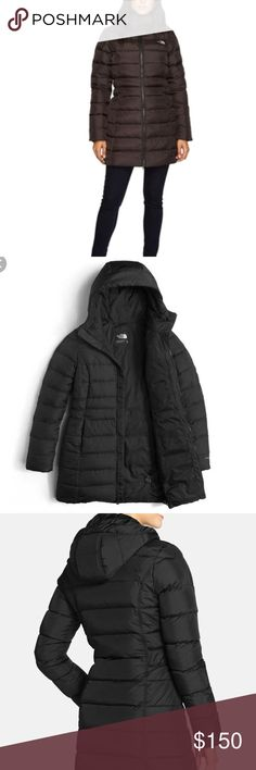 The North Face Women's Gotham Parka II Coat Black The North Face Women's Gotham Parka II Coat Black Worn twice. Like new! Great coat and will keep you warm. There are some very faint light marks on the inside of the collar (as pictured), but I believe they can be removed with dry cleaning or spot treatment. The North Face Jackets & Coats Puffers