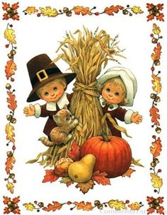 Happy Thanksgiving | http://www.commentsyard.com/cute-happy-fall-graphic/
