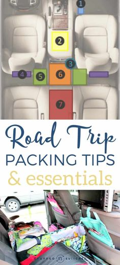Road Trip Essentials and Packing Guide for how to pack your car for a road trip…. Road Trip Essentials and Roadtrip Tips, Road Trip Packing List, Packing Tips For Vacation, Solo Travel Tips, Travel Blog, Road Trip Essentials, Road Trip Hacks, Car Travel, Travel Packing