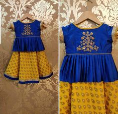 Trendy Ideas Fashion Clothes For Kids Skirts Frocks For Girls, Dresses Kids Girl, Kids Outfits, Baby Girl Lehenga, Kids Lehenga, Kids Frocks Design, Baby Frocks Designs, Kids Dress Wear, Kids Gown