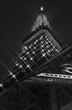 Tokyo Tower, Japan http://www.flickr.com/photos/wind-ya/5272765569/