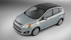 Ford's C-Max Solar Energi concept car is a sun-powered hybrid