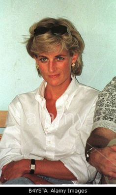 PrincessAugust 9, 1997: Diana, Princess of Wales visited Bosnia as part of her campaign to ban landmines. Diana