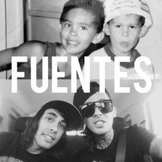 Vic and Mike Fuentes. Lol Mike's face when they were little haha