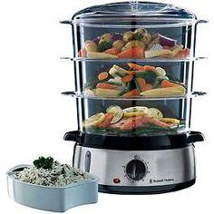Cucinare in modo sano e veloce è facilissimo se hai gli accessori giusti. #cucina #ricette #dieta #vapore #vaporiera
