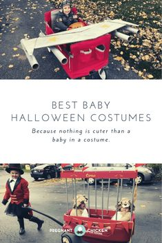 The Best Baby Halloween Costumes Stroller Halloween Costumes, Funny Baby Halloween Costumes, Baby Halloween Costumes For Boys, Baby First Halloween, Creative Halloween Costumes, Family Halloween, Halloween Ideas, Baby Tips, Infants