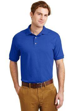 Uber Driver Homme Gildan Dryblend Polo Shirt T-Shirt-marron