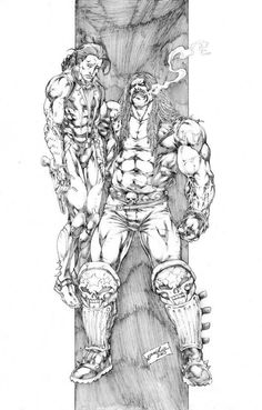 Lobo by Jose Luis Arte Dc Comics, Marvel Comics Art, Comic Drawing, Manga Drawing, Comic Book Artists, Comic Books Art, Art Sketches, Art Drawings, Comic Art Fans
