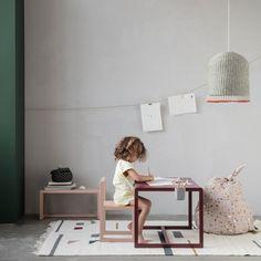 Architect Table Pink Ferm Living Design Children