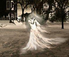 La dame blanche de Trécesson