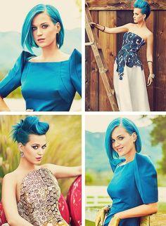I always love her crazy hair.