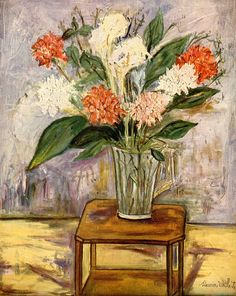 Maurice Utrillo (1883 - 1955). Son of artists'  model-turned-painter Suzanne Valadon.