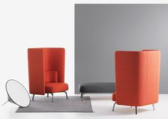 Portus armchair by Lammhults