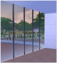 Glazed Fence by Christine1000 at Sims Marktplatz via Sims 4 Updates
