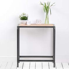 Tabla de consola tabla de consola de madera reciclada