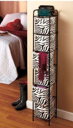 Teen Bedroom Zebra Print Storage Unit with 6 Bins Wild Decor,http://www.amazon.com/dp/B00EWTBFKE/ref=cm_sw_r_pi_dp_2ZI-sb1SHR00P8FE