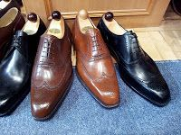 love those shoe trees, and the brogues of course!