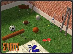 /Around the Sims 2 | Objects | Hobbies | Sports