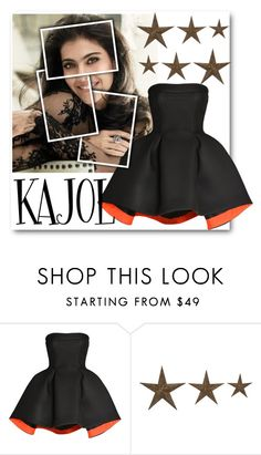 """KAJOL"" by eshitapatel2001 ❤ liked on Polyvore featuring Parlor"