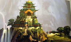 images of dragon palaces concept art - Google Search