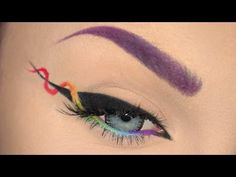 Helix Eyeliner Makeup Tutorial ! - https://www.avon.com/?repid=16581277 Shop Now  Hey my rainbow bright zombaes! This is a quick, to the point makeup tutorial to teach you how to do the newly trendy and super fun helix eyeliner made popular by @glowawaymeg on instagram! Go check out her page – if you like this style of eyeliner you'll love what else she does! https://www.instagram.com/glowawaymeg/ This rainbow version of a helix eyeliner is inspired by her origina