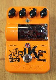 Vox Tone Garage Trike Fuzz Guitar Effects Pedal