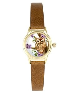 River Island Helen Owl Face Watch $26